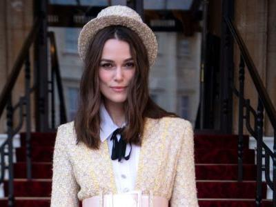 Keira Knightley Wore Chanel Haute Couture to Get Her OBE at Buckingham Palace