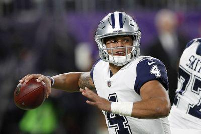Cowboys beat Vikings 17-15 for 11th straight win