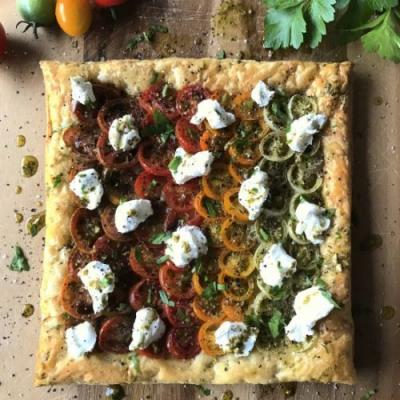 Tomato and Goat's Cheese Tart