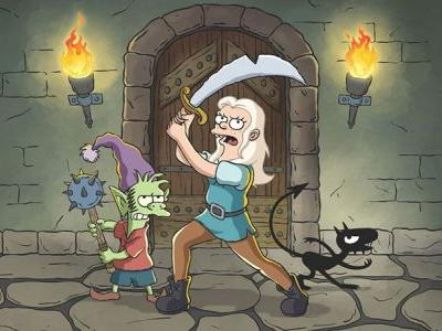 Disenchantment Renewed for Season Two at Netflix