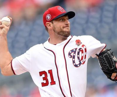 Max Scherzer breaks nose in bunting catastrophe