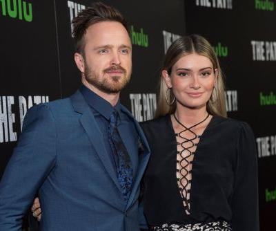 Aaron Paul's daughter makes her Comic-Con debut