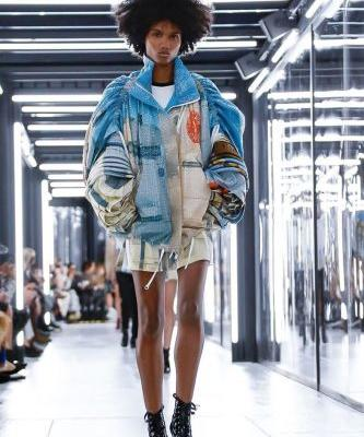 Louis Vuitton took over the Louvre with a referential but futuristic show