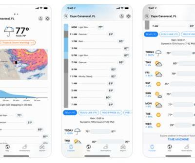 Apple buys Dark Sky, the incredibly popular hyperlocal weather app