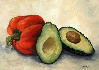 Day Four of the 30 in 30! Avocado with Bell Pepper II