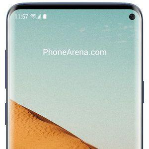 Galaxy S10 protector hints at a more elegant selfie hole in the display than on the A8s