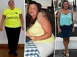 Woman whose PCOS saw her balloon to size 24 sheds seven stone