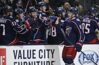 Blue Jackets offense erupts in wild 7-4 win over Bruins