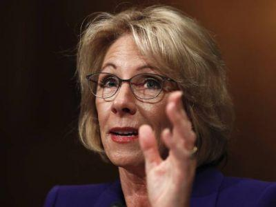 Deadlock in U.S. Senate over Trump's education pick Betsy DeVos likely to force vice-president to break tie for first time in history