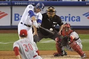 Gennett powers Reds' offense in 4-1 win over Dodgers