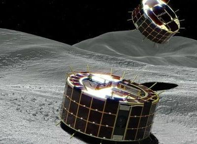 A Japanese spacecraft just landed two rovers on an asteroid