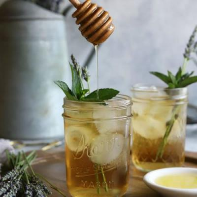 Lavender Mint Iced Tea