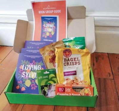 Be in to win a 'Book Club in a Box': Three copies of Loving Sylvie by Elizabeth Smither and a selection of delicious snacks
