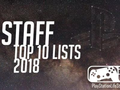 PSLS Staff's Top 10 Games of 2018 - Everyone's Favorite Games of the Year