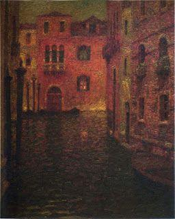 Henri Le Sidaner, The Red Palace