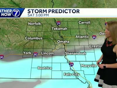 Snow south Saturday, warmer next week