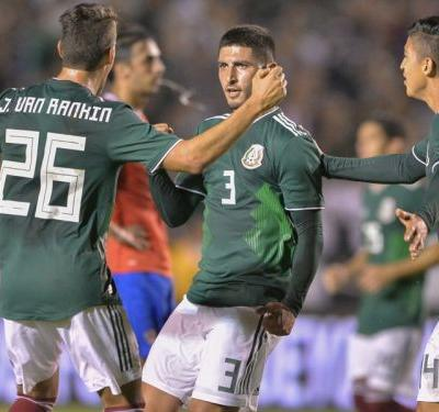 Mexico 3 Costa Rica 2: Hosts end losing run