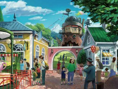 Take a sneak peek at the Studio Ghibli theme park