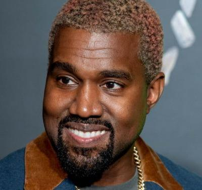 Kanye West Is Embracing The Rainbow Hair Trend