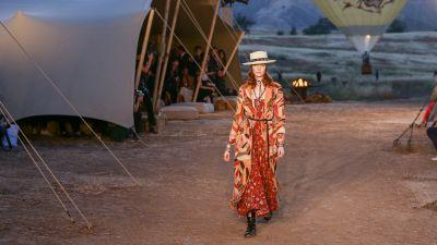 Dior's Calabasas-Set Cruise 2018 Show Was Like Stepping Inside a Georgia O'Keeffe Painting