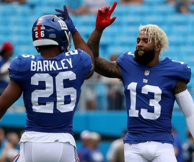 Giants find a way for an Odell Beckham TD with perfect trick play
