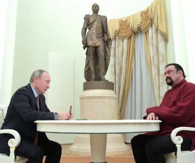 Putin Appoints Steven Seagal As Russia's Special Envoy to the U.S