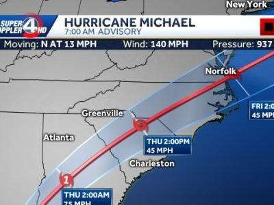 Powerful and extremely dangerous Hurricane Michael continues to intensify