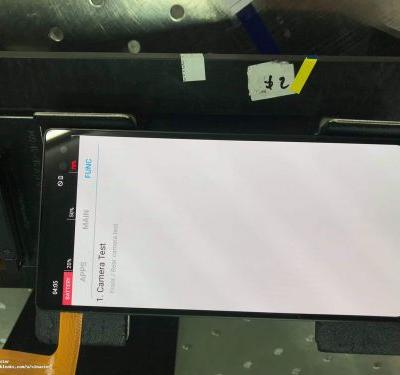 Samsung Galaxy S10 flaunts a corner notch in leaked image