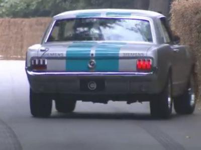 'Self-Driving' 1965 Mustang Crashes With The Whole World Watching