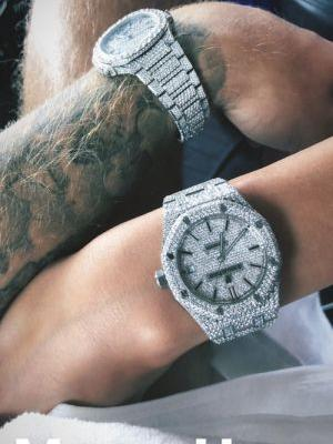 Justin Bieber & Hailey Baldwin's Matching Watches Are Total CoupleGoals