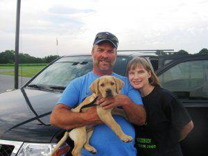 Puppy Raiser Profile: Marilyn and Scott Evey by Maia Bell