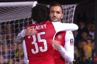Lucas Perez finds the bottom corner to give Arsenal the lead | 2016-17 FA Cup Highlights