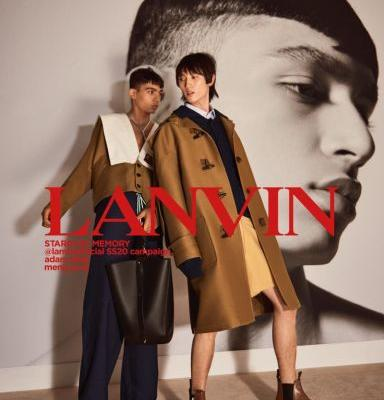 Stardust Memory: Adam & Meng for Lanvin Spring '20 Campaign