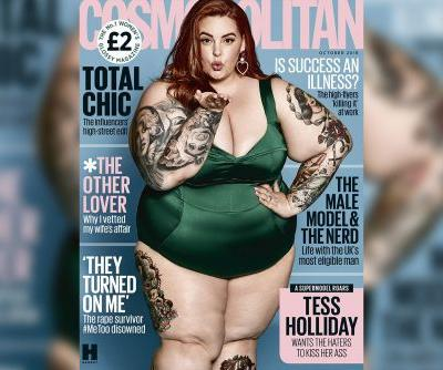 Plus-size model Tess Holliday opens up about struggle with mental health