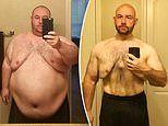 Software engineer, 38, who weighed 29 STONE has lost almost half his body weight