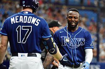 Randy Arozarena clubs 11th homer in Rays' 9-3 win over Orioles