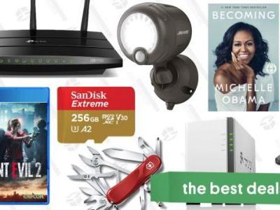 Sunday's Best Deals: World Backup Day, C.S. Lewis, Mr. Beams, Resident Evil 2, and More