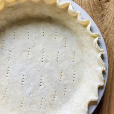 Sweet dough pie crust