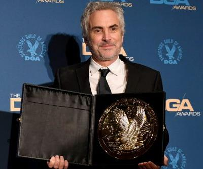 Alfonso Cuarón wins at DGA Awards for 'Roma'