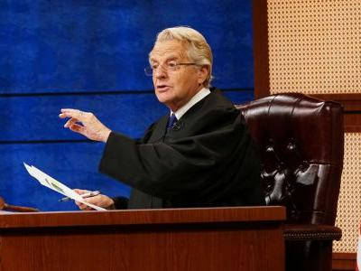 Jerry Springer Returning To TV With Judge Jerry In Fall 2019