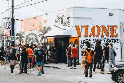 Check Out Day One of VLONE's Pop-Up at Art Basel Miami