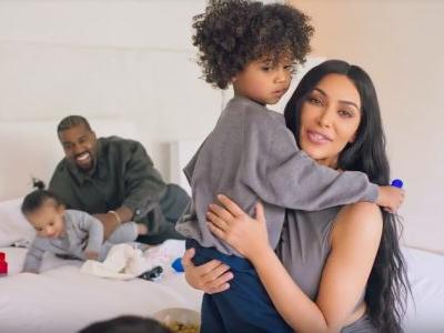 """Kim Kardashian & Kanye West's """"73 Questions"""" With 'Vogue' Features All Their Adorable Kids"""