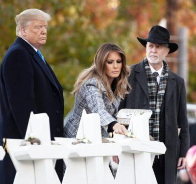 Trump visit to Pittsburgh after deadly synagogue shooting met with anger, protests