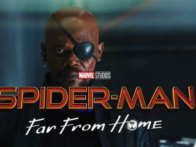 Spider-Man: Far From Home Banners Show Nick Fury Blind in Both Eyes
