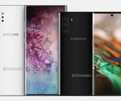 Samsung's Galaxy Note 10 reportedly launching on August 7th