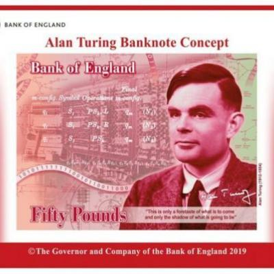 The Bank Of England Puts Alan Turing On New £50 Note