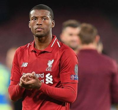 Wijnaldum waiting to see if chasing 'suits' Liverpool as they slip behind Man City