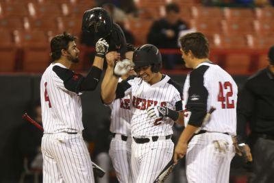 Justin Jones powers UNLV to 20-3 win in baseball opener - PHOTOS