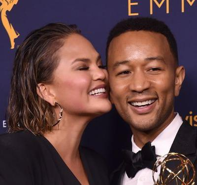John Legend locked Chrissy Teigen out of the room during the 'Game of Thrones' premiere because she talks too much