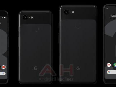 Exclusive: Definitive Look At The Google Pixel 3 & XL Black, White & Sand